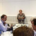Sveta Bernard at farewell lunch