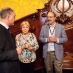 Eli Lederman and Sveta and Rich Bernard